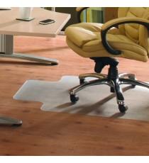 FF Pvc Hard Floor Chairmat Lip 92X121Cm