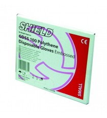 Shield Embossed Gloves Medium Pk100 Gd55