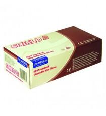 Shield Vinyl Gloves Medium Pk100 GD47