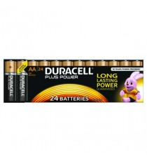 Duracell Plus AA Battery Pk24