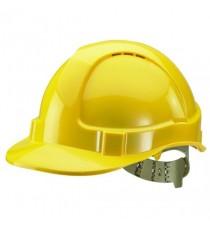 Comfort Vented Safety Helmet Yellow