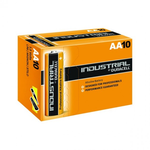 Duracell Industrial AA 10 Pack 81452400