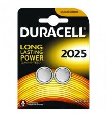 Duracell 3V DL2025 Battery Lithium Pk2