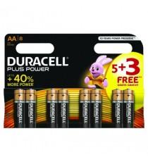 Duracell 1.5V AA Alkaline Battery Pk8