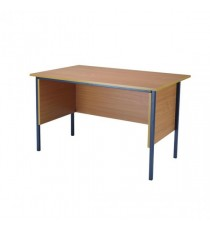 FF Serrion Beech 1200mm 4 Legged Desk