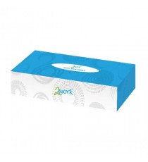 2Work Tissue Cream Box KMAX10011 Pk36