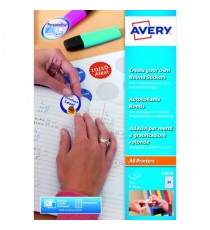 Avery Create Your Own Round Sticker P8