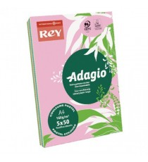 Adagio A4 Assorted Pastel Card 160gsm
