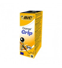Bic Orange Grip BallPen Black 811925