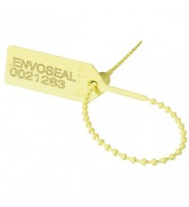 Security Yellow Numbered Pull Tight Seal