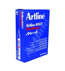 Artline 400 Paint Marker Yellow Pk12