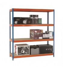 Orange/Zinc 2000X1500Xd450mm Shelving
