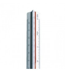 Linex Tri Scale Ruler 500 to 2500 30cm W