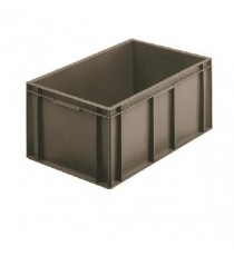 Grey 600x400x175mm Euro Stack Container