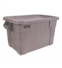 Brute Tote Box/Lid 75L Grey 382216