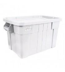 VFM White Brute Tote Box/Lid 75 Litre