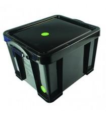 Really Useful Black 35L Rcyc Storage Box