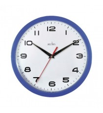 Acctim Blue Aylesbury Plastic Wall Clock