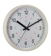 Acctim Metro 14in Wht Wall Clock