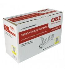Oki C5800/C5900 Yellow Img Drum 43381721