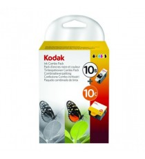 Kodak 10B/10C Black/Colour Ink Cart Pk2