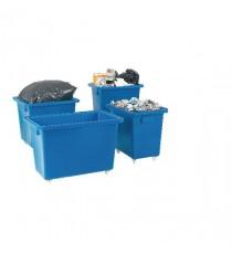 Swivel Blue 930X340X550mm Bottle Skip