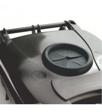 Grey Wheelie Bin 120L Bottle Lid Lock