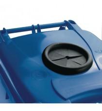 Blue Wheelie Bin 240L Bottle Lid Lock