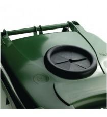 Green Wheelie Bin 140L Bottle Lid Lock