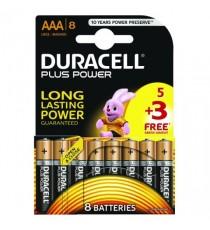 Duracell 1.5V AAA Alkaline Battery Pk8