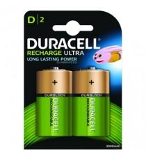 Duracell Recharge Nimh Battery D Pk2