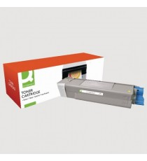 Q-Conn Oki Laser Toner Yellow 43872305