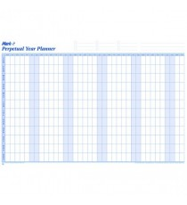 Mark-it Perpetual Year Planner Laminated