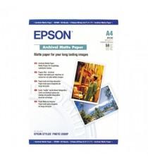 Epson A4 Archival Matte Paper Pk50