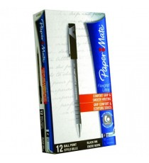 PaperMate Flexgrip BPen Fine Black 24311