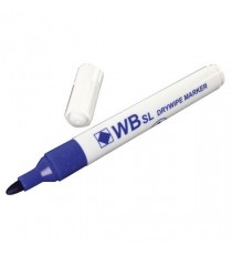 Whiteboard Marker Bullet Blue