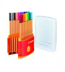 Stabilo Point 88 ColorParade Pk20 Astd