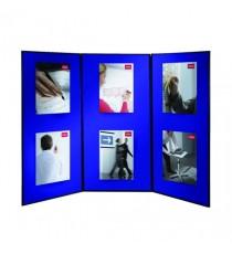 Nobo Showboard 3Panel Extra Blu 1901710