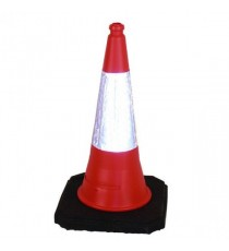 JSP Weighted Cone Reflective Slv Large