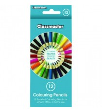 Classmaster Coluring Pncl Ast Cpw12