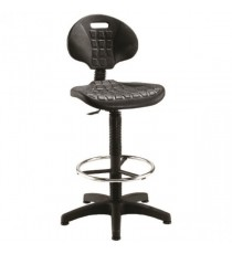 FF Jemini Draughtsman Chair Black