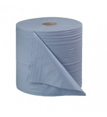 2Work Floorstand Roll 400mx28cm Blue Pk2