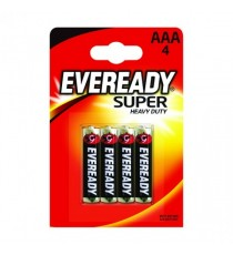 Eveready Super Silver AAA Pk4 RO3B4UP