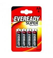 Eveready Battery Super AA Pk4 R6B4UP