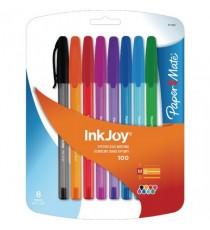 Paper/M Inkjy 100 Asst Clr Pk10 S09