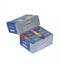 Swash Prem Pencl Erasers 8 Ast Clrs