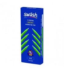 Swash Komfigrip Handwriting Pen Blu