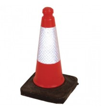 Jsp 50Cm Sand Weighted Cone Red Pk1