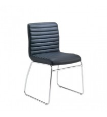FF Dart Leather Look Visitor Chair