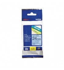 Brother P-Touch Tape 24mm Black/Blue